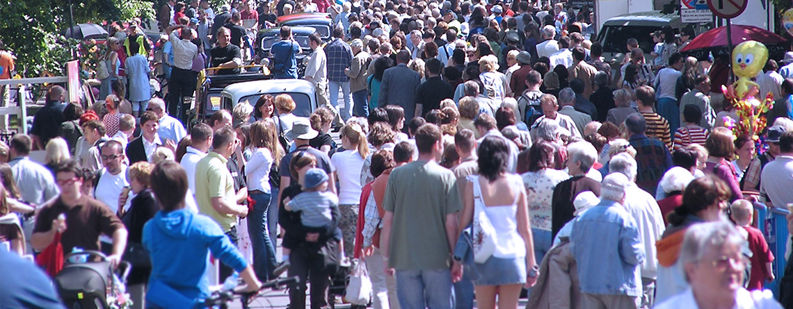 The world's population is getting bigger